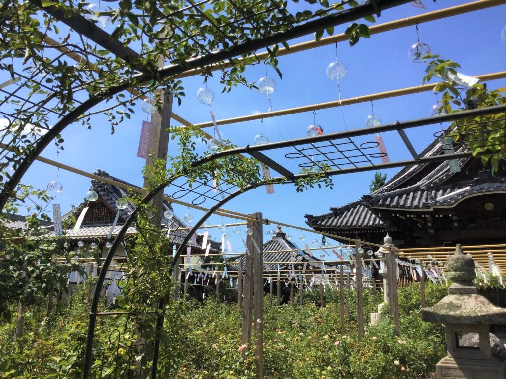 Cool sound for Hot Summer, Furin Matsuri, the Wind chime Festival in Ofusa Kannon