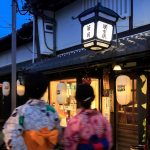 Naramachi Yuho, a night event of lanterns and foods in Naramachi