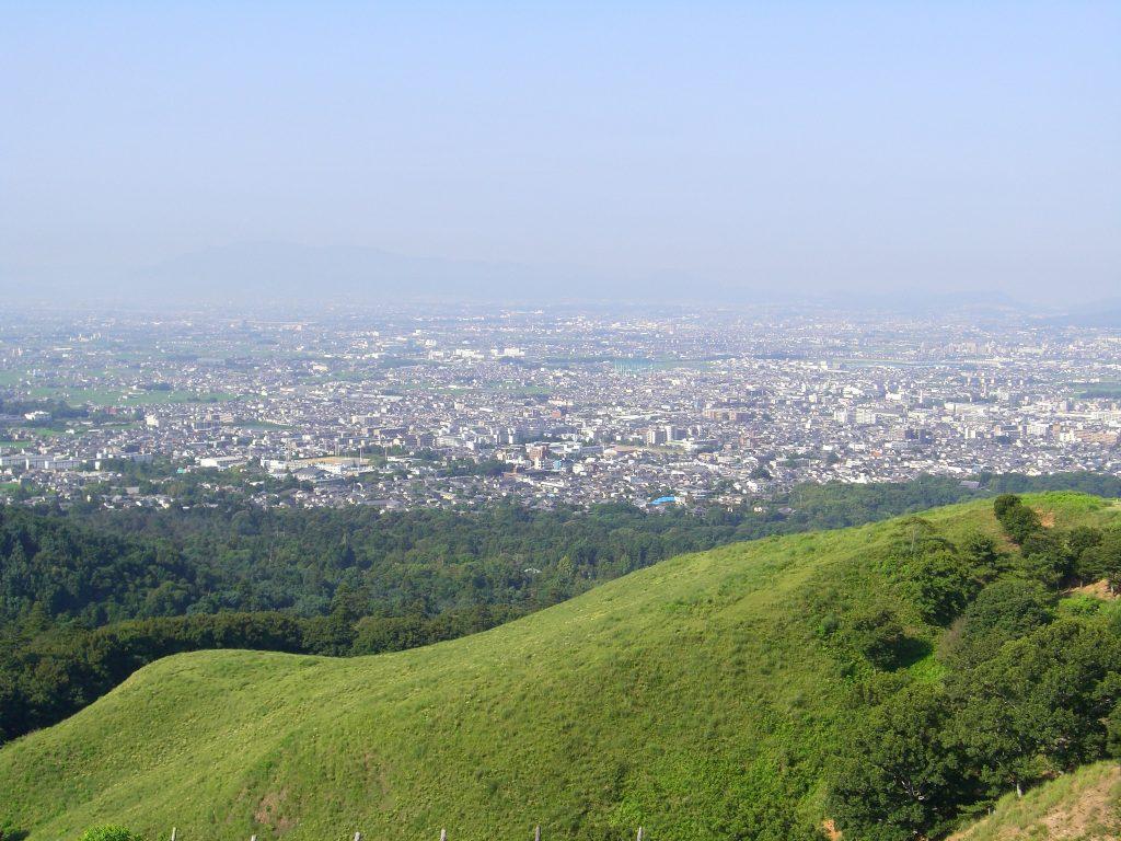 Night City View from Mt. Wakakusa