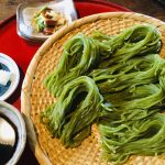 Seasonal Green Tea Soba