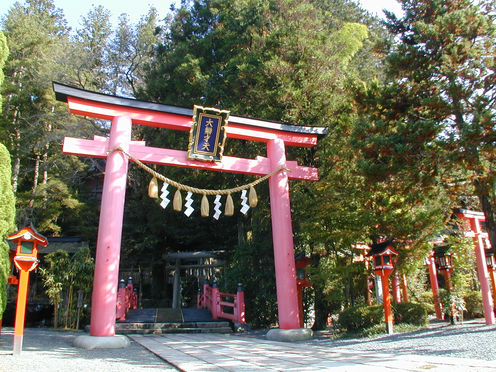 Tenkawa Daibenzaitensha Shrine